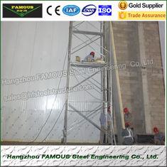 """Chine utilisation de système de mur d'unité centrale isolée par courant ascendant épais de panneaux """"sandwich"""" de 75mm fournisseur"""
