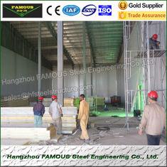 Chine L'entreposage au froid galvanisé a isolé le CE de porte d'oscillation de panneaux de toiture/COC fournisseur