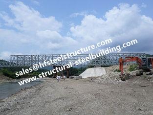 Chine Pont conçu de traversier de Bailey et provisoire modulaire en acier préfabriqué en acier de construction de secours galvanisé fournisseur
