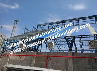 Chine Escaliers en acier industriels fabriqués de fondations couvrant pour le projet de construction d'entrepôt d'acier de construction fournisseur