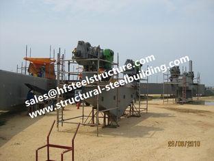 Chine Construction en acier industrielle structurelle de fabrication de bâtiments pour la chaudière industrielle de réservoirs de récipients fournisseur
