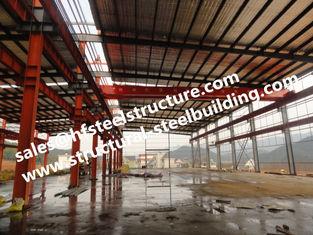 Chine Bâtiment industriel en acier de construction préfabriqué et Pré-machiné d'entrepôt fournisseur