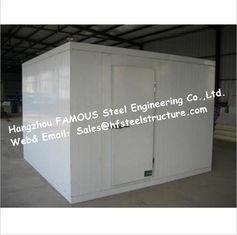 Chine Promenade adaptée aux besoins du client dans des chambres de congélateur faites de panneau de plancher et matériel d'isolation thermique fournisseur