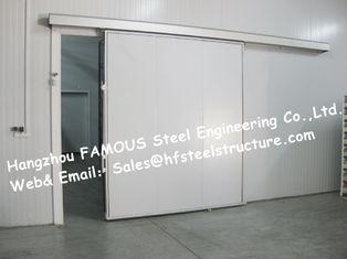 Chine promenade d'épaisseur de 50mm, de 100mm dans le congélateur à air forcé de chambre froide et fait en panneau de polyuréthane fournisseur