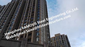 Chine Bâtiment en acier à plusiers étages industriel préfabriqué pour l'appartement, bâtiments préfabriqués en acier fournisseur