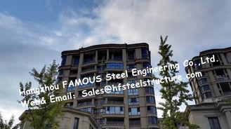 Chine Les bâtiments préfabriqués en acier de poutre en double T légère avec en acier fabriqué/ont préfabriqué la structure métallique fournisseur
