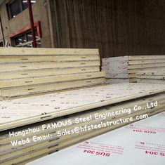 Chine Panneaux de plafond légers de congélateur à air forcé de panneau de chambre froide avec le matériel de tôle d'acier fournisseur