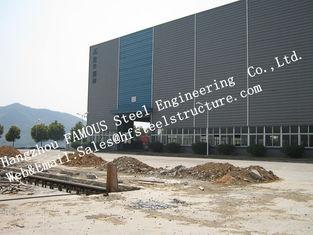Chine Métier soudé par bâtiments en acier industriels préfabriqués à colonnes pour l'atelier fournisseur