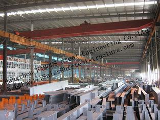 Chine Bâtiments en acier industriels préfabriqués, bâtiments structurels en acier d'envergure simple pour l'entrepôt fournisseur