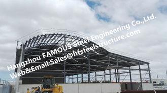 Chine Les bâtiments en acier industriels de fournisseur de la Chine ont fabriqué la construction de structure métallique fournisseur