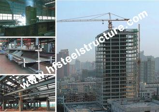 Chine Bâtiments en acier commerciaux de style de voûte, bâtiments à pans de bois portaiux légers en acier laminés à froid fournisseur