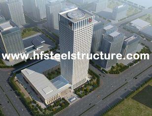 Chine Sciant, rectifiant, bâtiments en acier commerciaux imperméables préfabriqués Pré-Machinés fournisseur