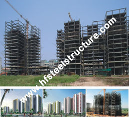 Chine Immersion chaude galvanisée, bâtiment en acier commercial préfabriqué galvanisé et de peinture électrique fournisseur