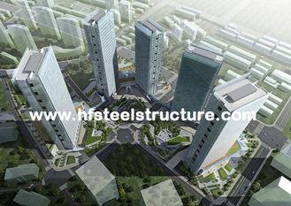 Chine Soudure préfabriquée d'OEM, bâtiments en acier commerciaux en métal freinant, de roulement et de peinture fournisseur