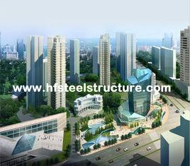 Chine Le sawing industriel d'OEM, rectifiant, poinçonnant et imperméabilisent le bâtiment en acier à plusiers étages fournisseur