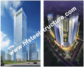 Chine Q235 industriel préfabriqué fait sur commande, bâtiment en acier à plusiers étages du stockage Q345 en acier fournisseur