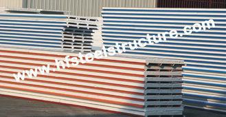"""Chine La toiture en métal d'ENV/unité centrale couvre avec le panneau """"sandwich"""" en acier de couleur fournisseur"""