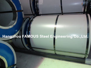 Chine PPGI PPGL a galvanisé la bobine/feuille/plat enduits d'une première couche de peinture de Galvalume enduits d'une première couche de peinture par bobine en acier fournisseur