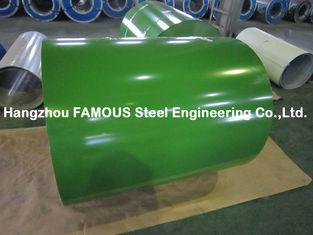 Chine PPGI a enduit la bobine d'une première couche de peinture en acier ridée couvrant le fabricant de la Chine de feuille fournisseur