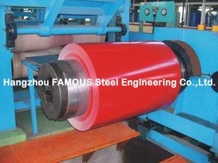 Chine Le polyester modifié par silicone SMP a enduit la bobine d'une première couche de peinture en acier pour la bobine en acier enduite d'une première couche de peinture par AZ d'Al-Zn de zinc de construction fournisseur
