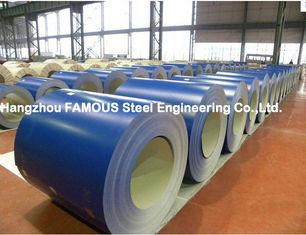Chine PPGI PPGL a enduit la toiture d'une première couche de peinture ridée par bobine en acier faisant le fabricant en acier de Chinois du zinc enduit par couleur AZ fournisseur
