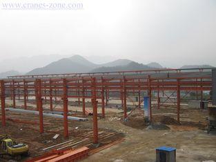 Chine Cadre de bâtiments en acier industriel de Pré-Ingénierie de grande envergure, Chambre mobile de récipient fournisseur