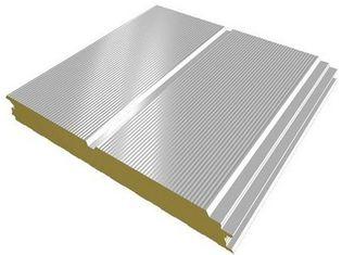 """Chine Les tôles d'acier ondulées enduisent les feuilles d'une première couche de peinture ENV, unité centrale de toiture en métal de panneau """"sandwich"""" de Galvalume fournisseur"""