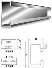 Chine Purlins en acier galvanisés C de matériau de construction d'acier de construction et acier de Purlin de Z fournisseur