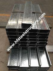 Chine Purlins en acier galvanisés plongés chauds fournisseur