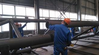 Chine fabrications d'acier de construction de composants de Pré-ingénierie pour le bâtiment en acier industriel fournisseur