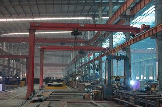 Chine Bâtiment léger préfabriqué de construction de fabrications d'acier de construction fournisseur