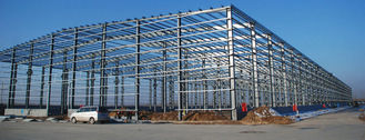 Chine Accomplissez les fabrications d'acier de construction pour le bâtiment en acier industriel fournisseur