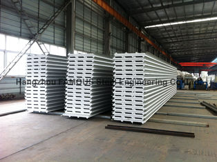 """Chine La toiture en métal d'ENV/unité centrale couvre la laine de roche de panneau """"sandwich"""" pour le mur pour le toit fournisseur"""