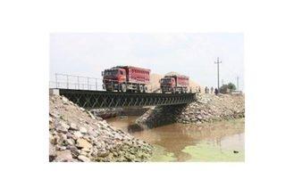 Chine Longue durée de vie de fatigue du contrat HD 200 de Portable de Bailey de conception en acier préfabriquée de pont fournisseur
