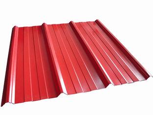 Chine La toiture en métal de haute précision couvre la forme adaptée aux besoins du client ondulée fournisseur