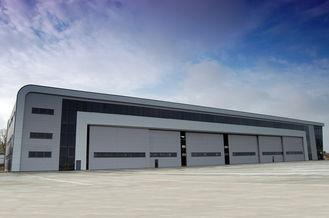 Chine Panneaux multi attrayants de nervure de profil bas d'avions de bâtiments modernes de hangar fournisseur