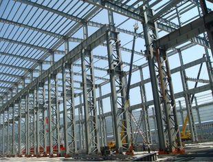 Chine Le double fil de double d'arc a soudé des faisceaux a fabriqué la gare ferroviaire d'acier de construction fournisseur