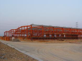 Chine Partie métallique structurelle industrielle se contractant, systèmes de encadrement d'acier préfabriqué fournisseur