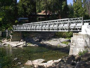 Chine Capacité de charge lourde portative de pont de Bailey, rigidité forte de structure fournisseur