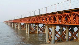 Chine L'OEM/le pont en acier modulaire/contrat soudure faite sur commande ont préfabriqué le pont de Bailey fournisseur
