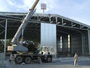 Chine Acier droit Pré-machiné annoncé de colonne de hangars en acier d'avions fournisseur