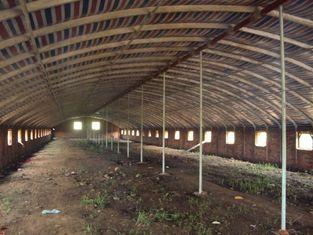 Chine Sécurité qualifiée réutilisable et systèmes en acier de hangar de poulet fabriqués par utilité fournisseur