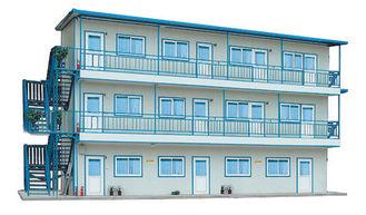 Chine Chambre en acier préfabriquée portative de Recyling de couche de deux/trois pour la résidence provisoire fournisseur