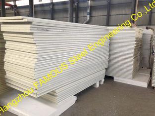"""Chine Metal les panneaux """"sandwich"""" isolés par toiture ignifuges, mousse de 100mm -150mm fournisseur"""