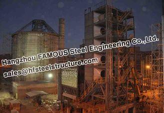 Chine Usine industrielle de ciment de la Bolivie de fabrications d'acier de construction fournisseur