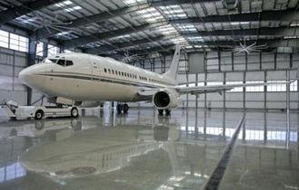 Chine Hangar imperméable galvanisé et de peinture électrique d'avion en métal des bâtiments sifflants de botte fournisseur