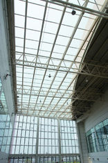 Chine L'acier fait sur commande fabriquent des tribunes de bâtiments de botte en métal de tuyau et folâtrent des stades fournisseur