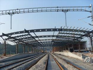 Chine Bâtiments de botte en métal structurel de gare ferroviaire, peinture antirouille avec 2-4 couches fournisseur