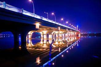 Chine OEM cisaillant, sciant, pont de Bailey d'acier de construction rectifiant, poinçonnant et peignant fournisseur