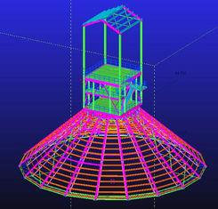 Chine Immersion chaude faite sur commande galvanisée, conceptions techniques structurelles en acier imperméables et préfabriquées fournisseur